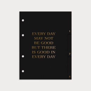 Register Black Every Day may not be good but there is good in every day
