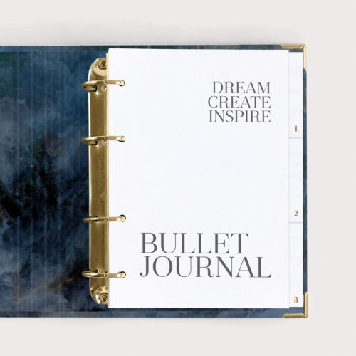 Bullet Journal Midnight Dream Create Inspire