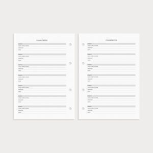 Basic Set Paswörter