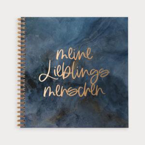 Freundebuch Midnight Meine Lieblingsmenschen