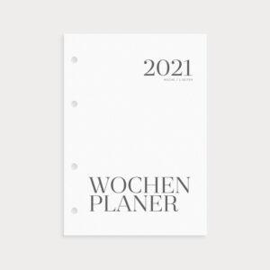 Wochenplaner 2021 Coverseite