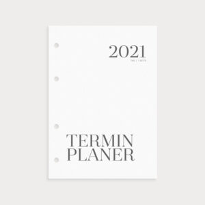 Terminplaner 2021 Coverblatt