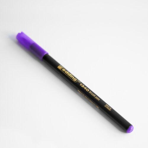 Edding Brush Pen Violett