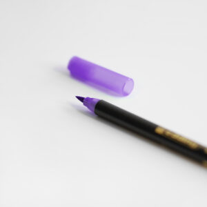 Edding Brush Pen Violett mit Kappe