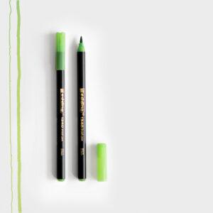 Edding Brush Pen Hellgrün mit Pinselspitze