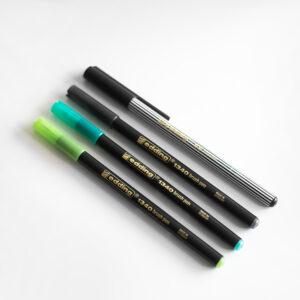 Edding Brush Pen Set Greenery für Brushlettering