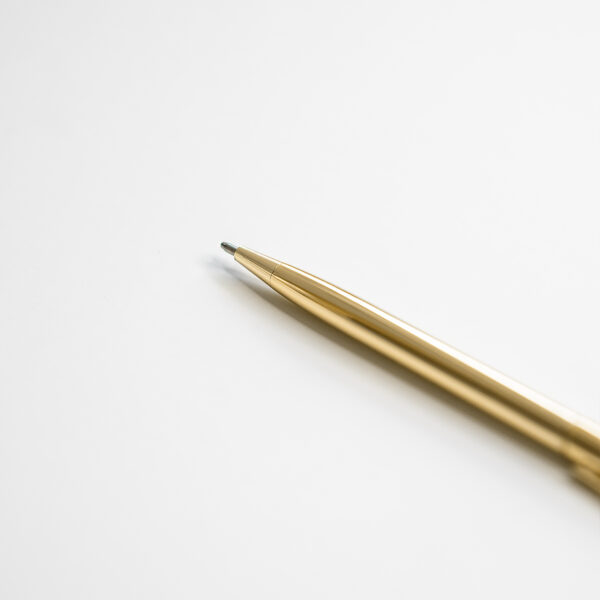 Kugelschreiber Gold Details