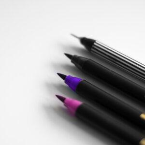 Edding Brush Pen Set Aquarell mit Fineliner