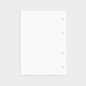 Bullet Journal Seite gepunktet zum Einheften