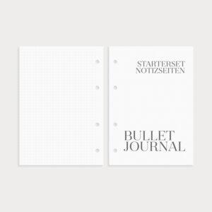 Bullet Journal Notizseiten Starterset
