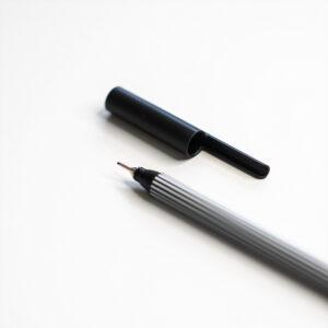 Edding Fineliner Schwarz 0,3 mm mit Kappe