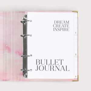 Bullet Journal Aquarell Ringbuch
