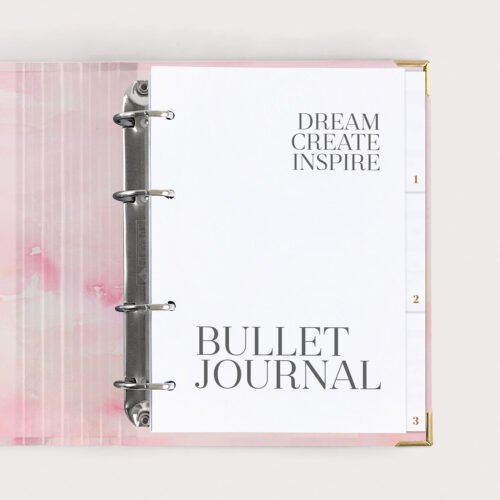 Bullet Journal Aquarell Ringbuch