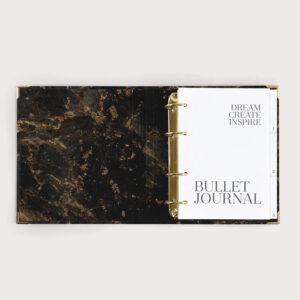 Bullet Journal Black mit Bullet Journal Seiten