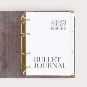 Bullet Journal Nude Dream Create Inspire