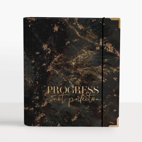 Black Cover Progress not Perfection