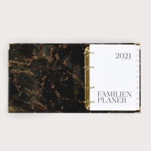 Familienplaner Black 2021