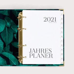 Jahresplaner Greenery 2021