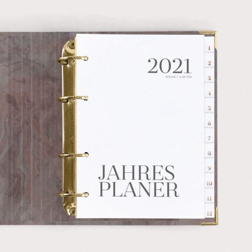 Jahresplaner Nude 2021