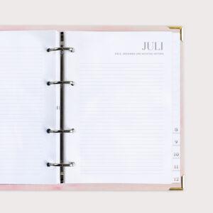 Ziele Gedanken Juli Terminkalender