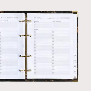 Black Gold Terminplaner Kalender