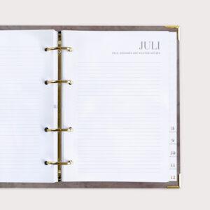 Terminkalender Monatsstart