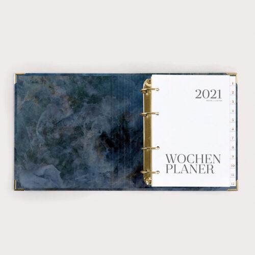 Wochenplaner Midnight 2021