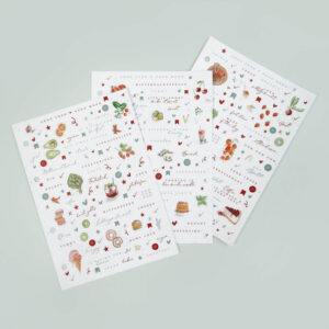 Stickerbögen aus der Good Food Good Mood Kollektion