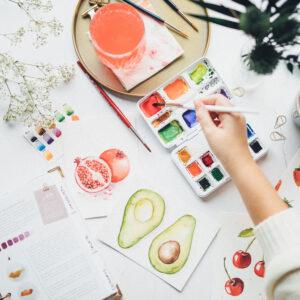 Watercolor Beginner Bundle Guide mit Tipps und Tricks