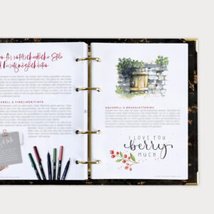 Watercolor Beginner Bundle Guide mit allen wichtigen Grundlagen