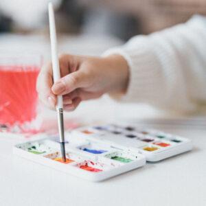 Watercolor und Aquarellieren üben
