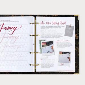 Brushlettering Beginner Bundle Lettering lernen
