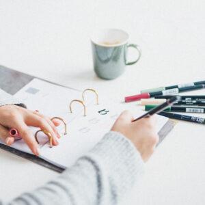 Brushlettering Beginner Bundle und Handlettering Übungsblatt Alphabet