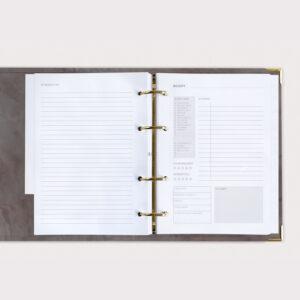 Rezeptbuch Nude Rezeptkarte und Zubereitung