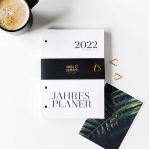 Jahresplaner Kalenderseiten 2022