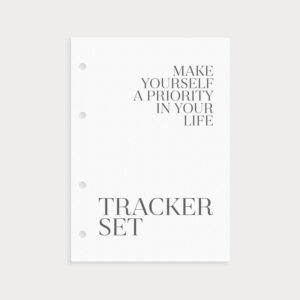 Tracker Set im Set New Year New Goals