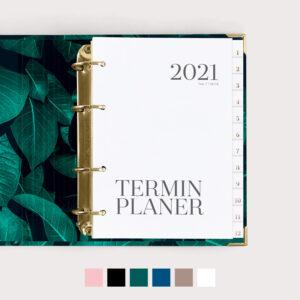 Terminplaner mit Farbvarianten