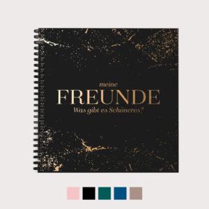 Freundebuch mit Farbvarianten