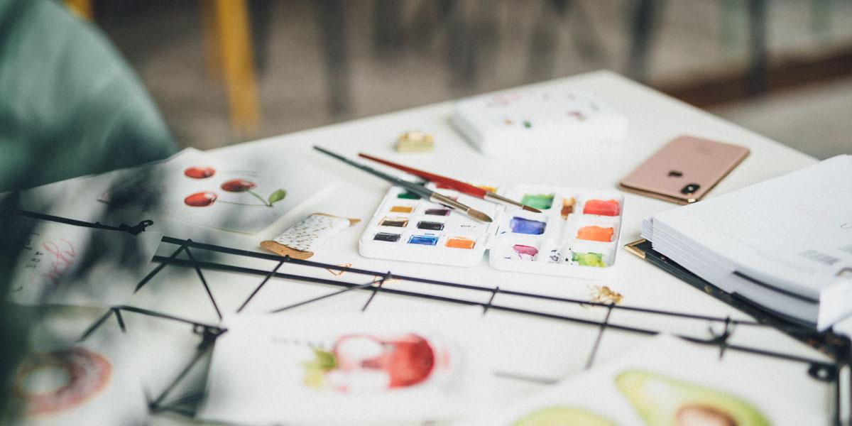 Watercolor Beginner Bundle