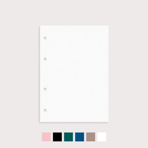 Register 9er Set Blanko mit Farbvarianten