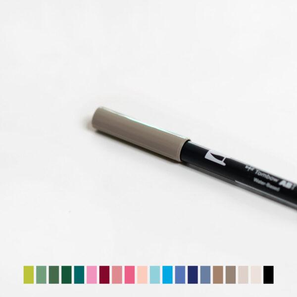 Tombow Brush Pen Coverbild mit Farbvarianten