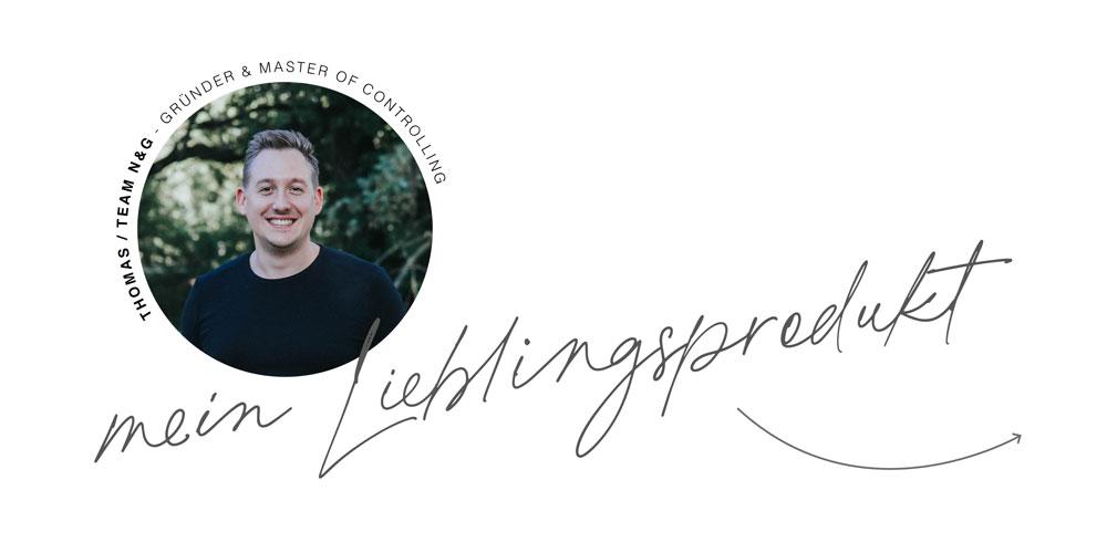 Thomas Lieblingsprodukt