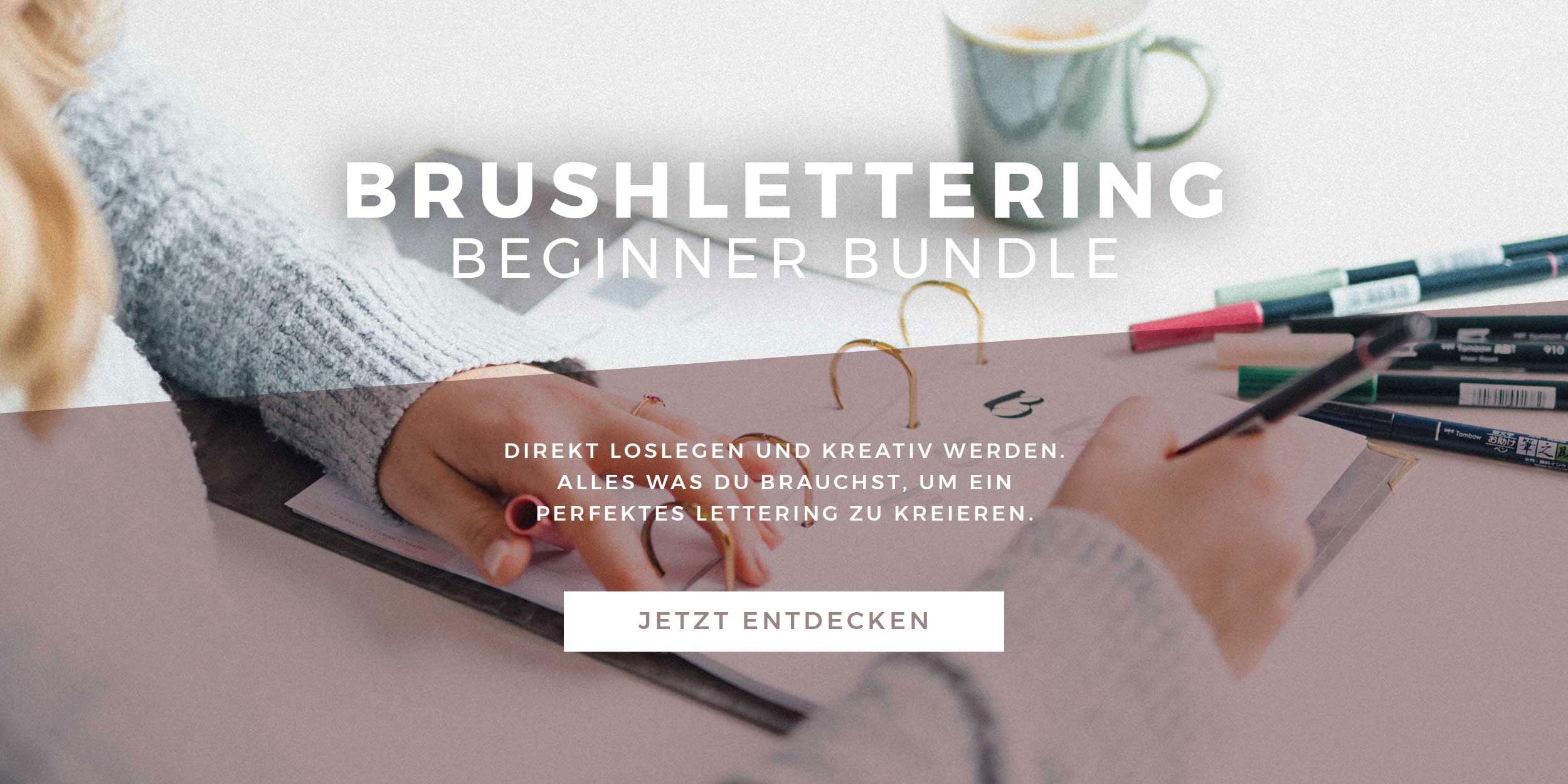 Brushlettering Beginner Bundle Slider