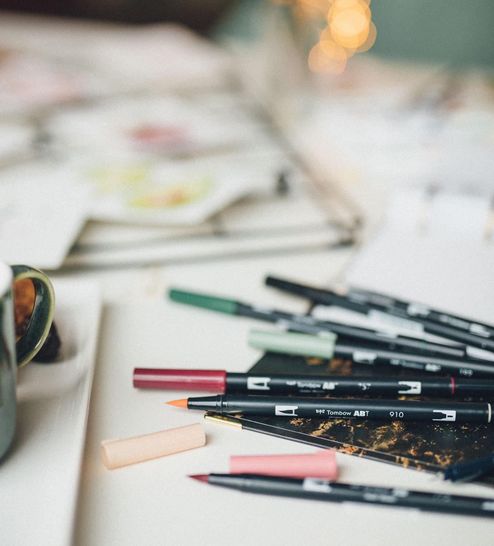 Tombow Brush Pens für mehr Kreativität