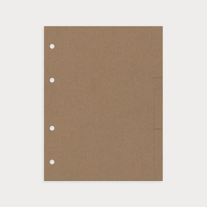 Register 9er Set blanko sand