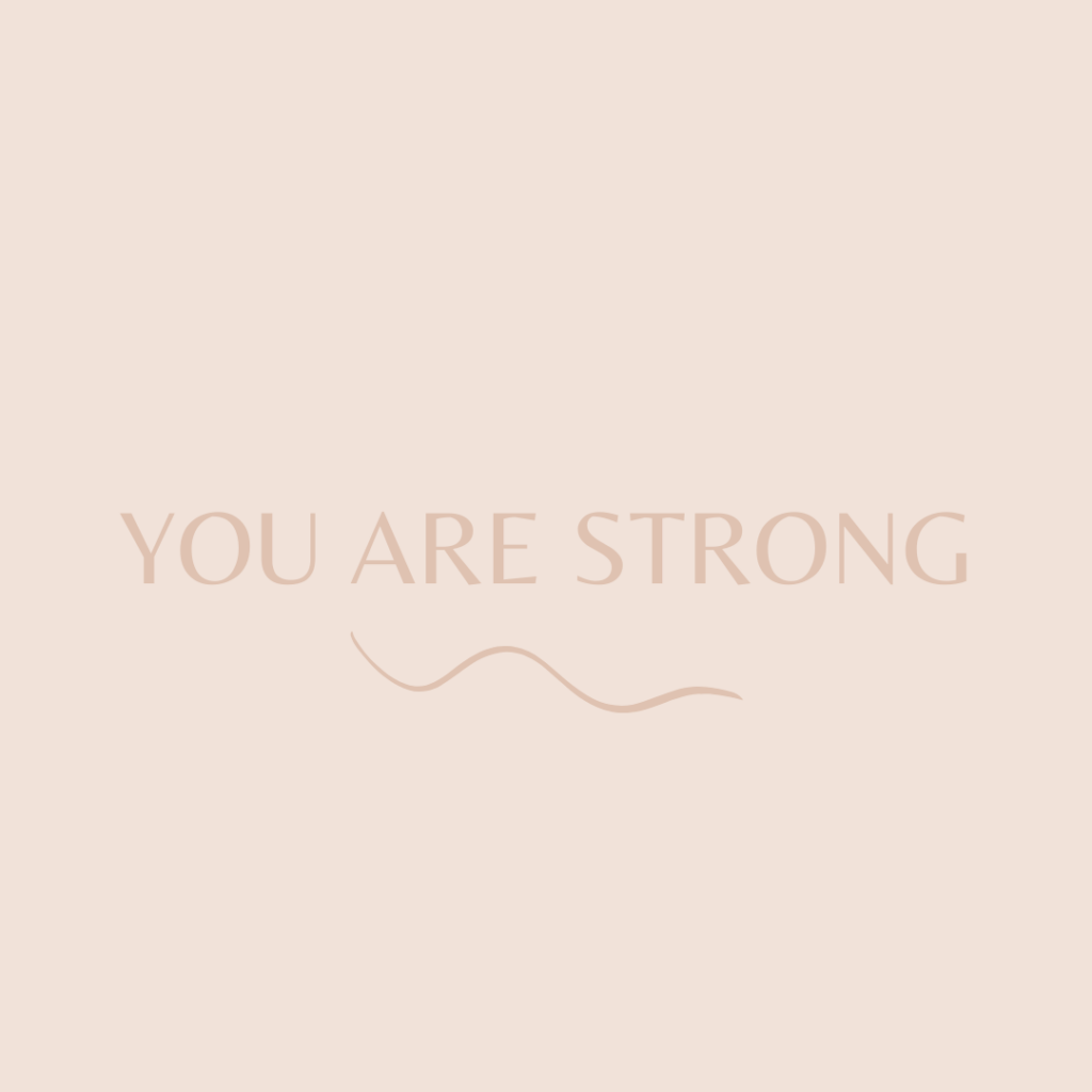 Quote you are strong